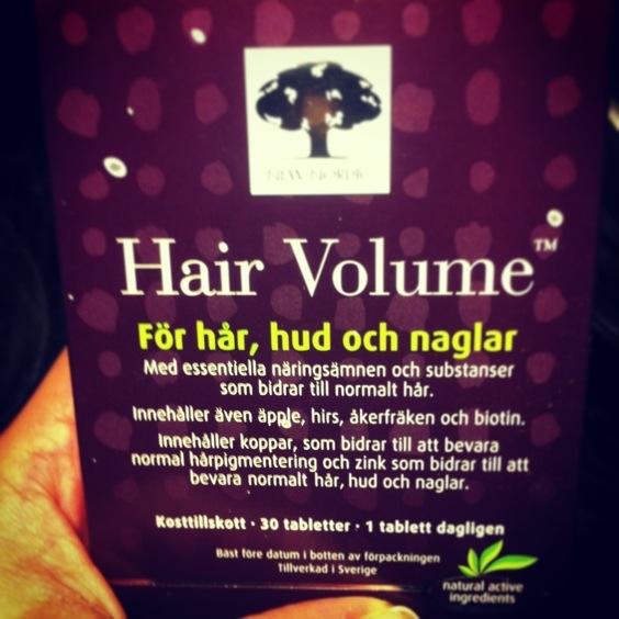 hår naglar vitamin